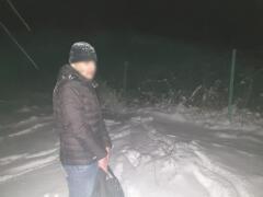 На окраине Чертково задержан выходец из Средней Азии, пытавшийся проникнуть на территорию России