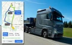 Водителям Краснодара стала доступна грузовая навигация Яндекса