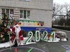 В Невинномысске подвели итоги конкурса на лучшее новогоднее оформление
