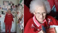 92-летней шотландке люди со всего мира шлют новогодние открытки