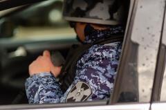 В Апшеронске росгвардейцы задержали пьяную автоледи
