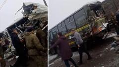 При ДТП с военными автобусами под Москвой погибли четверо