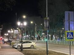 В Невинномысске ведется второй этап модернизации уличного освещения