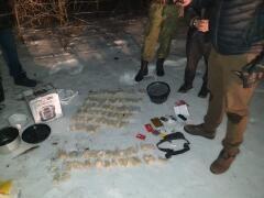 Донские пограничники пресекли контрабанду крупной партии синтетических наркотиков