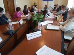 Участие женской общественности Кубани в реализации социальных проектов обсудили на заседании регионального отделения «Союза женщин России»