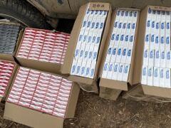 Сигареты на 1,5 млн рублей контрабандисты переправили с Украины в Россию на плоту