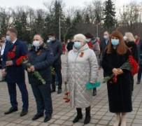 Профсоюзы Кубани почтили память героев-освободителей Краснодара от немецких оккупантов