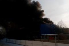 На топливном складе в Красноярске прогремел взрыв
