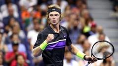 Теннисист Андрей Рублев оказался в четвертьфинале Australian Open