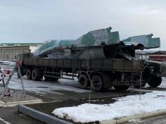 Боевой МиГ-29 установят на бульваре Мира в Невинномысске