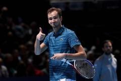 Российский теннисист Даниил Медведев признан второй ракеткой мира