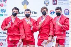 Самбист из Армавира Арам Григорян завоевал «серебро» Кубка мира