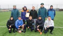 Спасатели из Адыгеи заняли третье место в турнире по мини-футболу