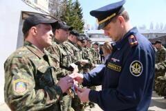 В отделе спецназначения «Рубеж» состоялись смотр личного состава и проверка транспорта