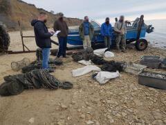 Донские пограничники задержали браконьеров со 170 незаконными орудиями лова