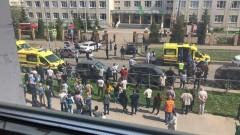 При стрельбе в школе в Казани погибли 13 человек
