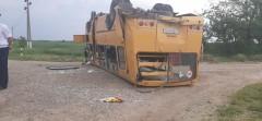 В Тбилисском районе произошло ДТП с школьным автобусом, четверо пострадали