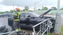 Сочинские спасатели ликвидировали последствия ДТП на дублере Курортного проспекта