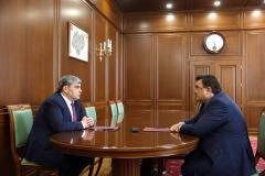 Казбек Коков и Константин Чуйченко обсудили планы развития правовой помощи в Кабардино-Балкарии