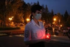 В День памяти и скорби полицейские Ставрополья присоединились к акции «Свеча памяти»