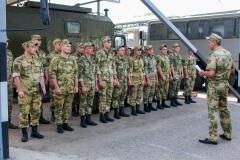 В ставропольских подразделениях Росгвардии прошли комплексные занятия по требованиям безопасности
