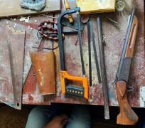 На Ставрополье мужчина незаконно хранил и изготавливал оружие