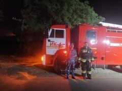 На Ставрополье сотрудники исправительной колонии помогли потушить пожар в жилом доме
