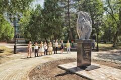 В Невинномысске открыли мемориал «Медицинским работникам»