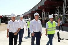 Новый Яблоновский мост построен на 50%
