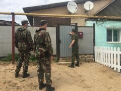 Волгоградские пограничники совместно с казахстанскими силовиками приняли участие в операции «Мекен чеги – 2021»