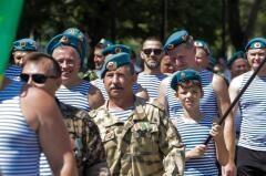 В Невинномысске отметили День воздушно-десантных войск