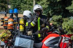 На Кубани сотрудники Росгвардии и МЧС провели совместные противопожарные учения