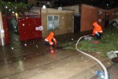 «Большая вода»: в Анапе за ночь выпала трехмесячная норма осадков