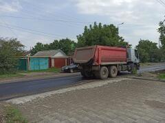 В Невинномысске продолжается ремонт дорог в частном секторе