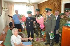 Пограничники Дона поздравили со 100-летием ветерана Марию Болдыреву