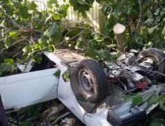 Сочинские спасатели ликвидировали последствия ДТП в районе поселка Головинка