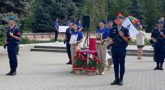 В Ипатово с почестями захоронили останки воина Великой Отечественной войны Дубового Ивана Митрофановича