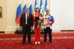 Глава КБР Казбек Коков вручил Марии Ласицкене орден «За заслуги перед Кабардино-Балкарской Республикой»