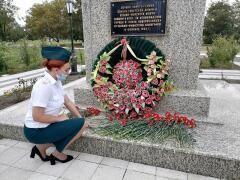 Молодежный совет Новороссийской таможни почтил память воинов, павших в боях за освобождение города-героя