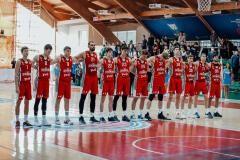 Команда «ЦОП-Локомотив-Кубань» дебютировала в российском баскетболе