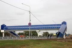 Новый пешеходный переход  у СНТ