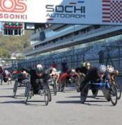 VII Международный полумарафон на спортивных колясках Рецепт-Спорт состоится на трассе «Сочи-Автодром»