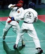 Полицейский из Чечни Жаддал Алибеков победил во Всероссийских соревнованиях по рукопашному бою