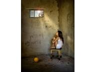 Наказание глазами детей...