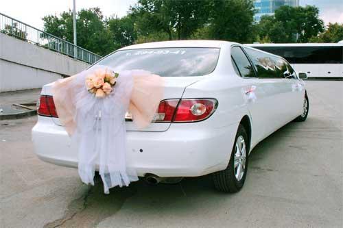 Как украсить лимузин на свадьбу своими руками