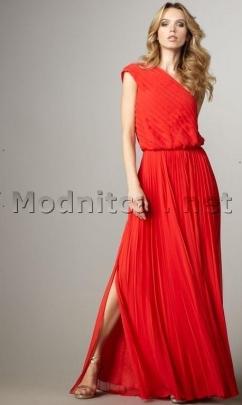 Вечернее платье в пол Анжелика зеленое - GraceEvening.ru (Москва