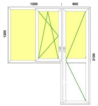 Недвижимость харьков :: балконные двери пвх.