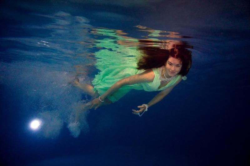"Танец под водой1 - Автор: Елена Тышко - ""Фотоконкурс имени Дмитрия Морозова 2017 - RuFox."