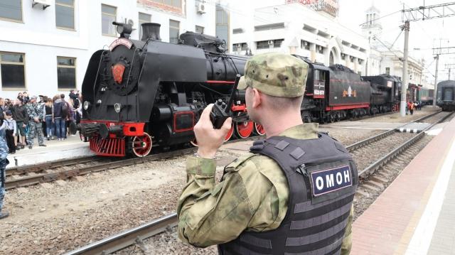 Ретро-поезд «Победа» курсирует поКраснодарскому краю