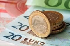 Курс евро на 6 мая вырос до 57,41 рубля